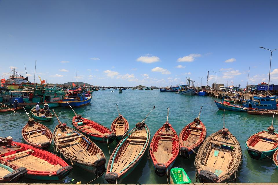 Ảnh làng chài Phú Quốc