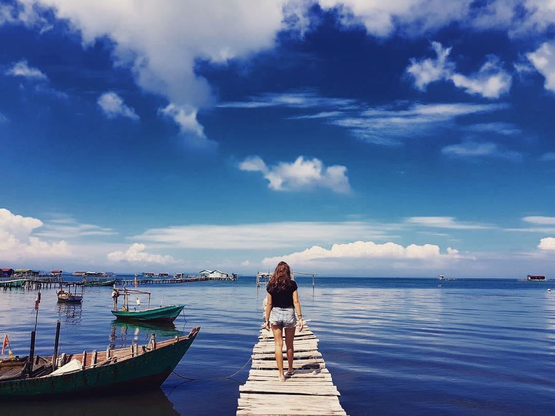 Ảnh làng chài Rạch Vẹm Phú Quốc đốn tim du khách bởi vẻ đẹp bình yên