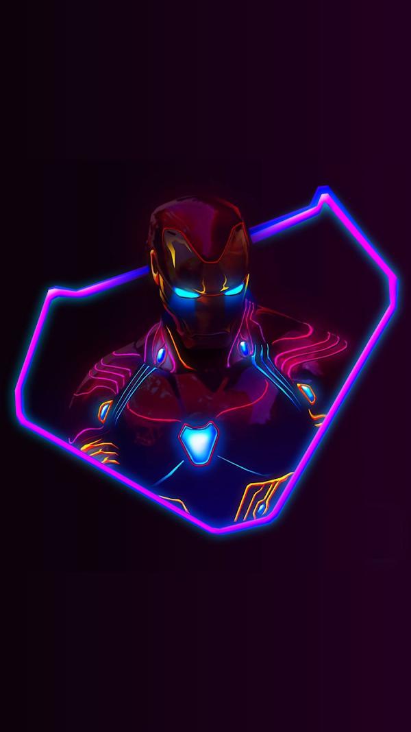 Ảnh nền điện thoại 3D Iron Man cực đẹp