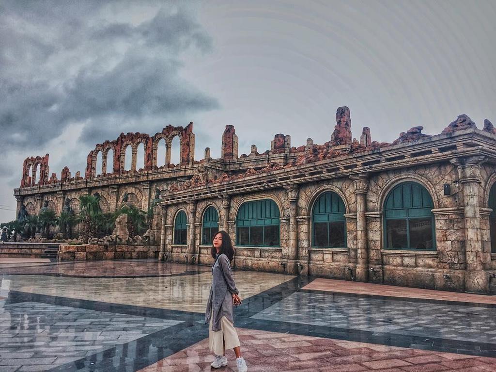 Ảnh Thành Romec cổ kính tại Phú Quốc