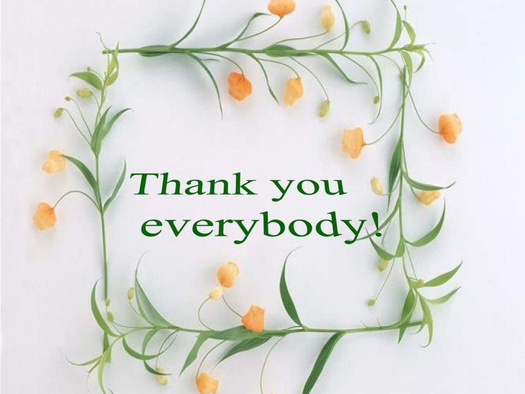 Ảnh thank you every body