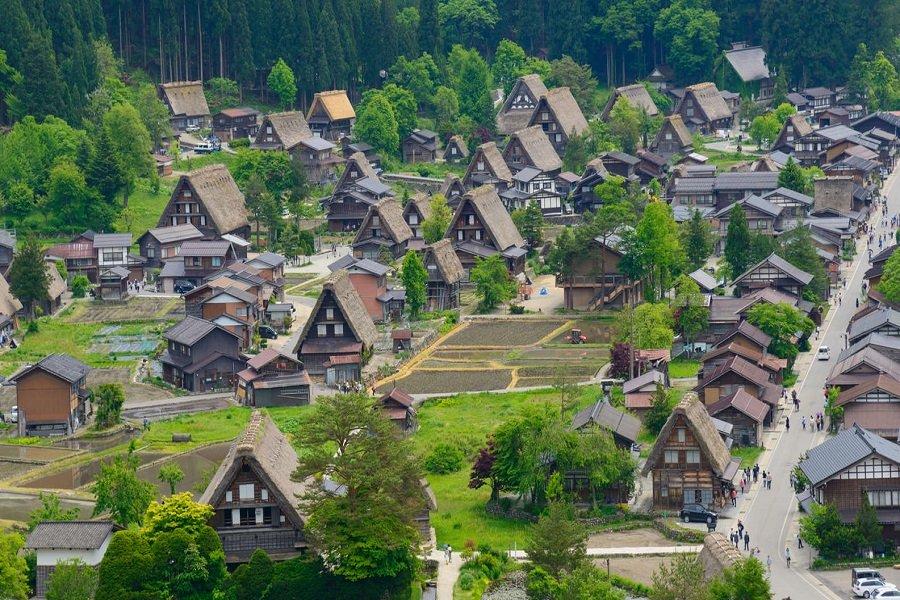 Ảnh thị trấn đẹp nhất Nhật Bản