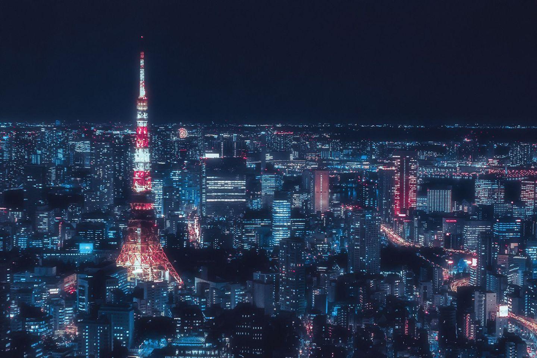 Ảnh Tokyo về đêm