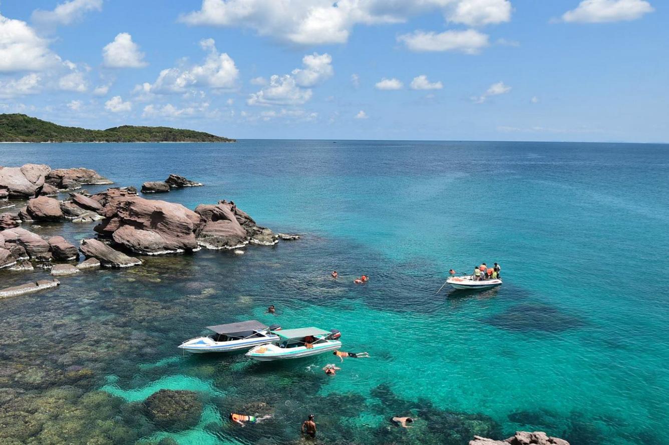 Hình ảnh hòn Móng Tay Phú Quốc tuyệt đẹp