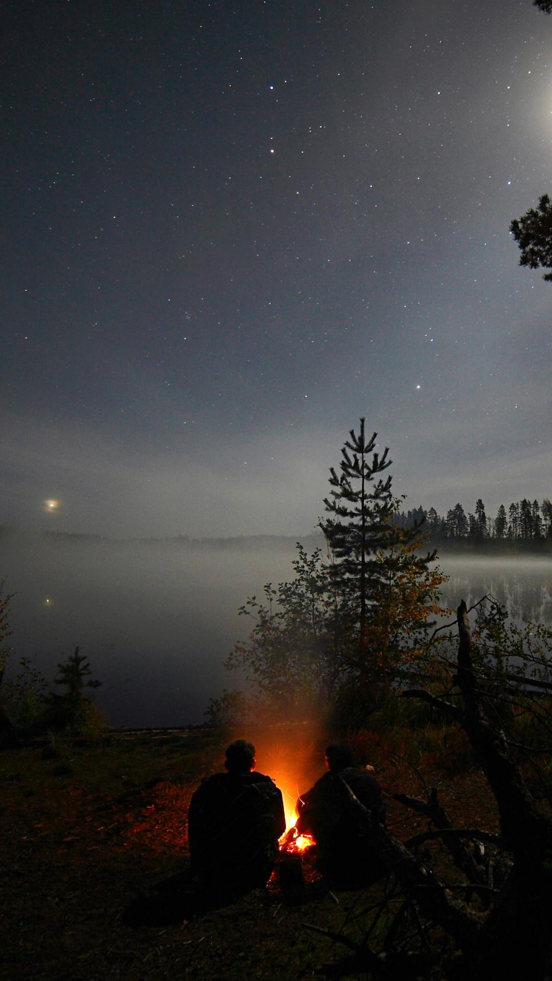 Hình nền bầu trời đêm cho điện thoại