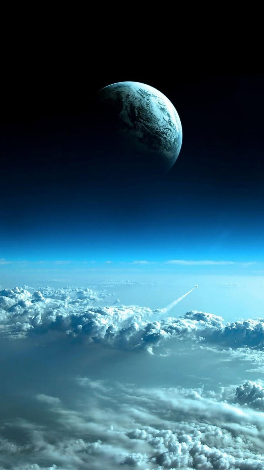 Hình nền điện thoại hình trái đất