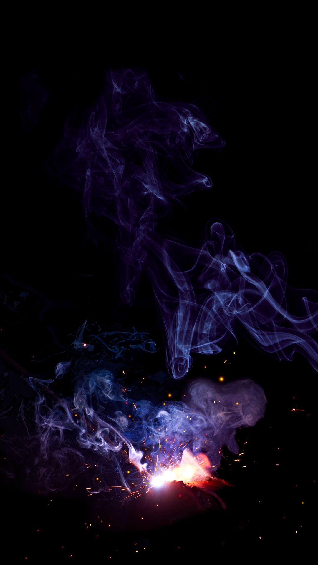 Hình nền khói cho điện thoại