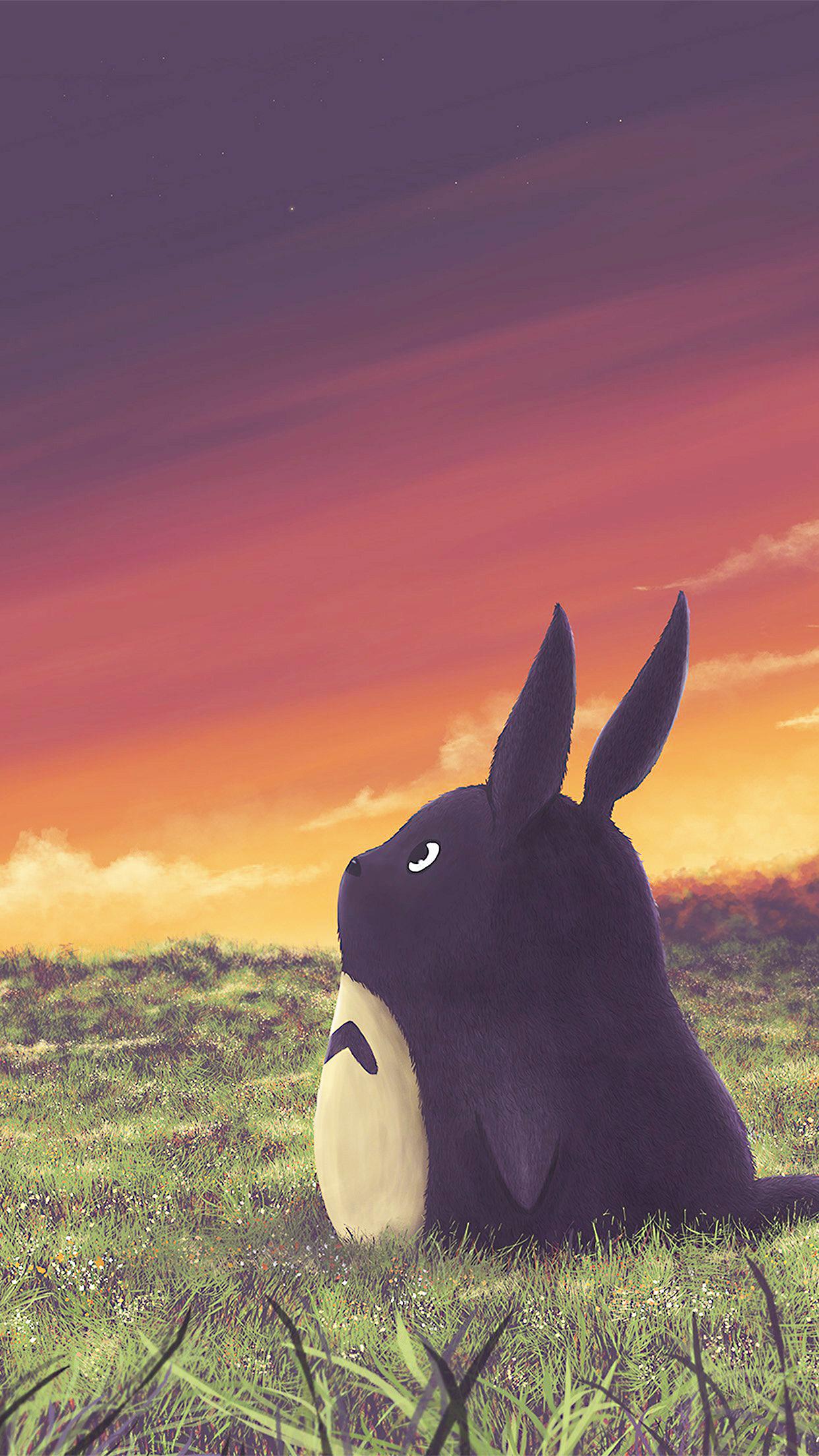 Hình nền Totoro cho điện thoại