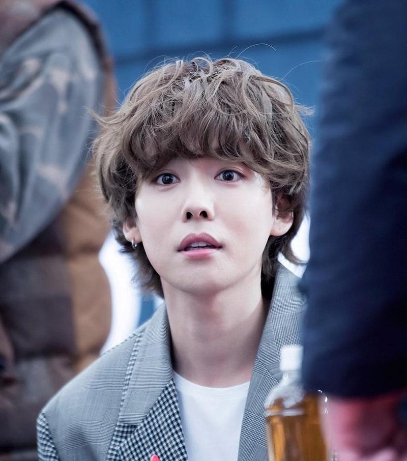 Kiểu tóc xù nam Hàn Quốc