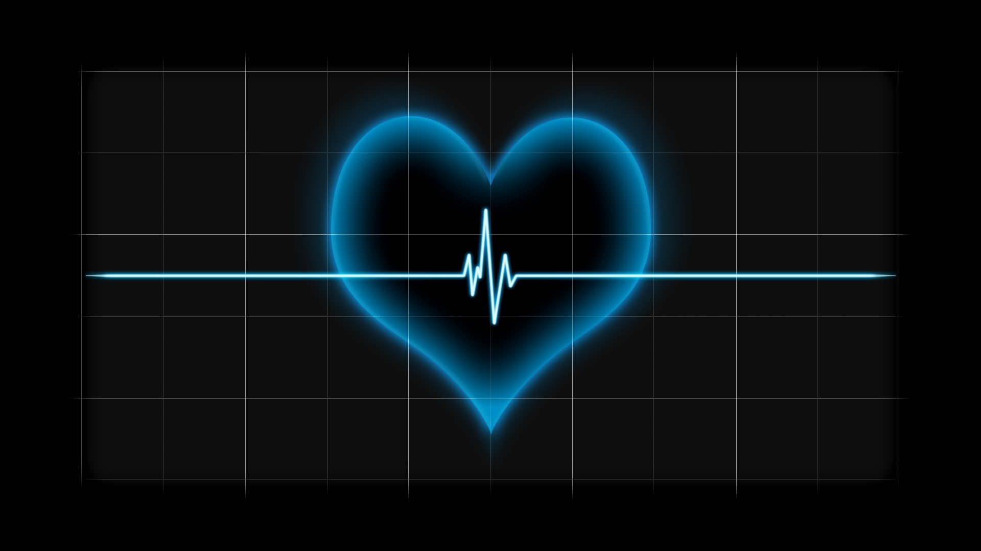 Hình nền trái tim đen đẹp