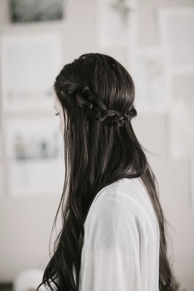 Kiểu tóc đen bạch kim đẹp