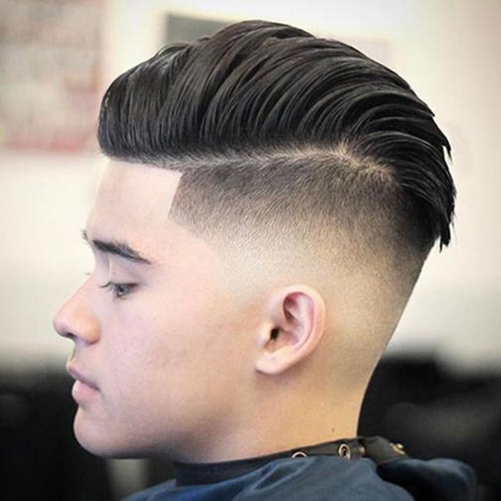 Kiểu tóc nam cho người mập