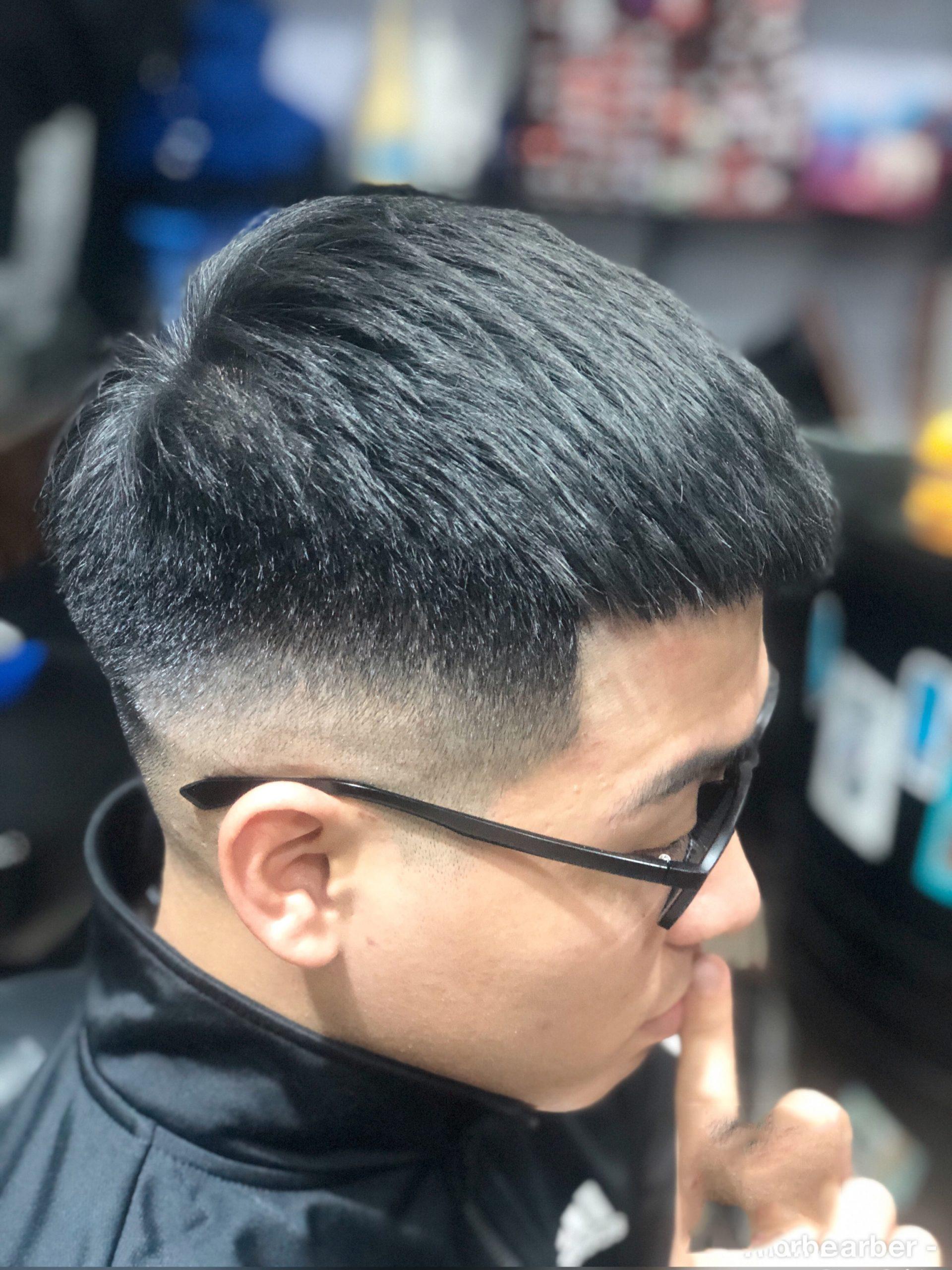 Kiểu tóc nam crop đẹp