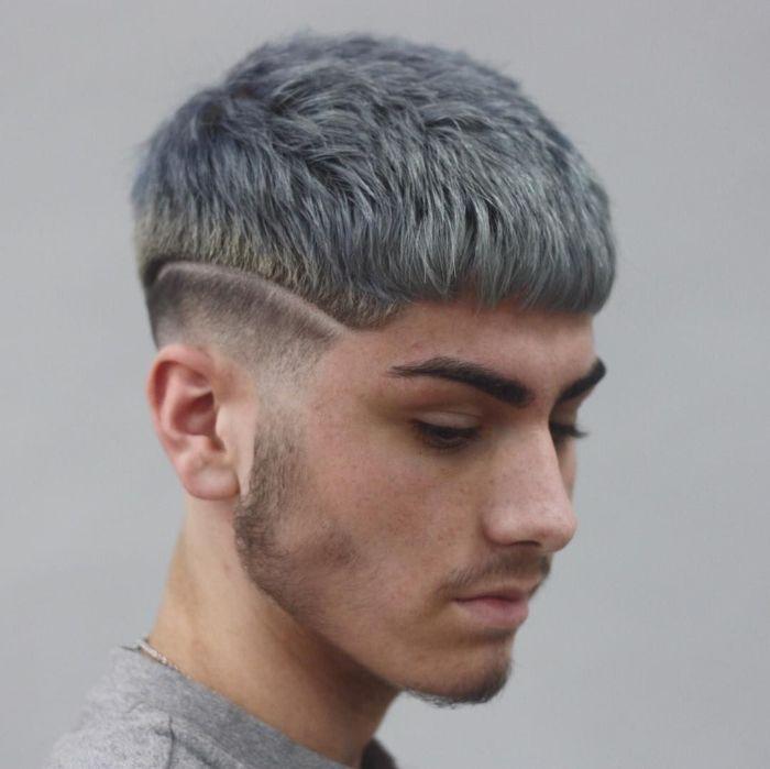 Kiểu tóc nam đầu nấm đẹp
