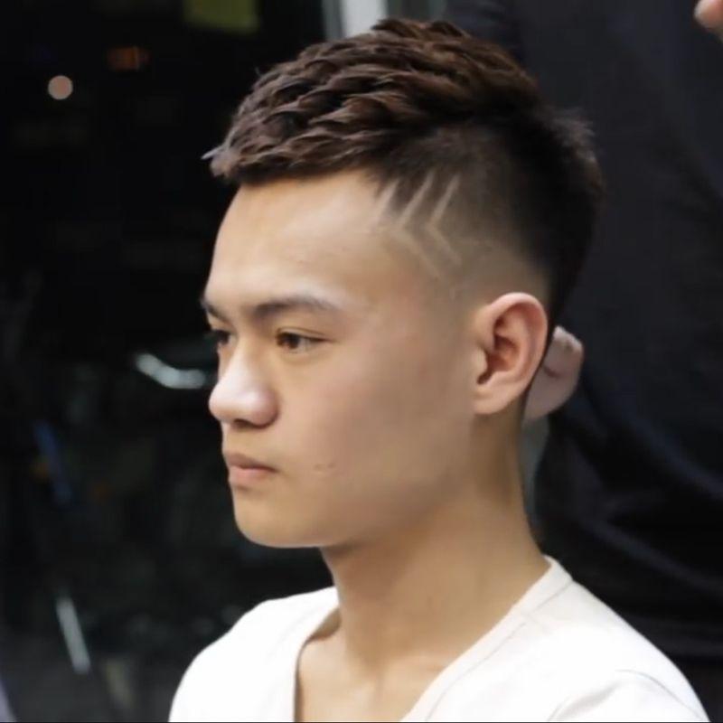 Kiểu tóc nam mặt nhỏ đẹp