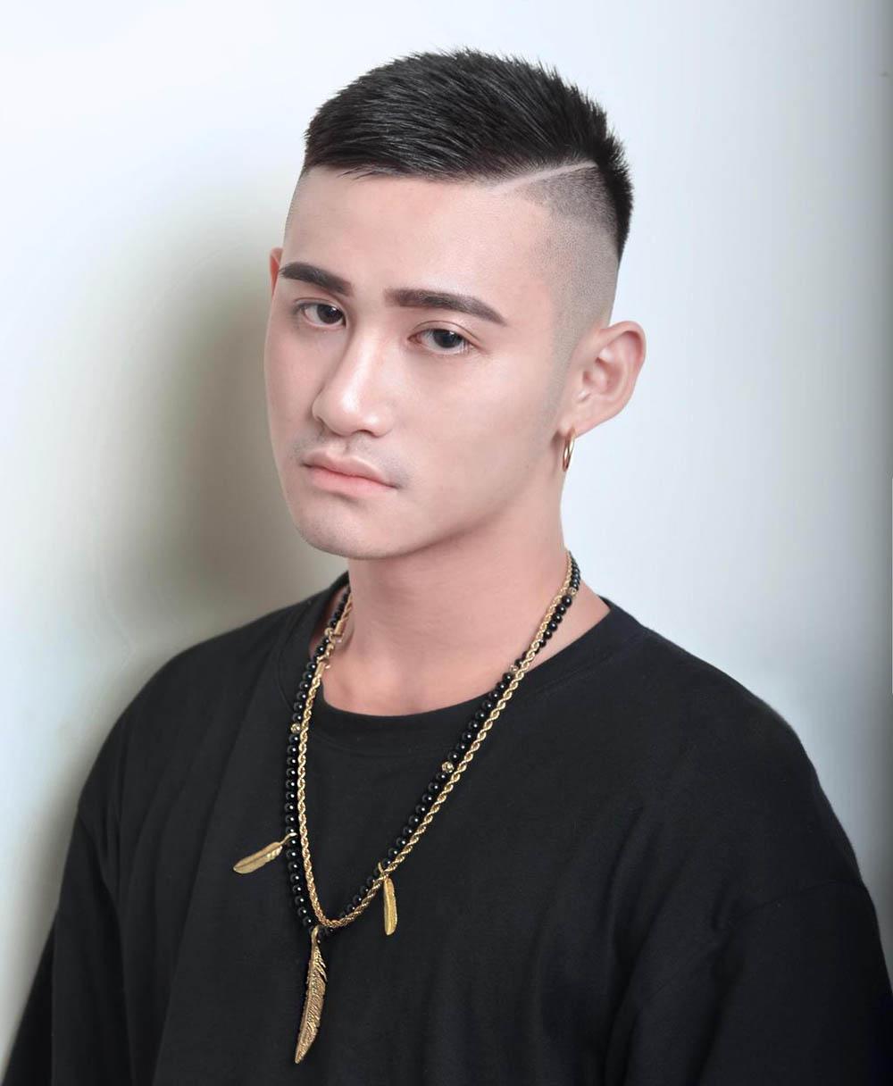 Kiểu tóc nam ngắn đẹp