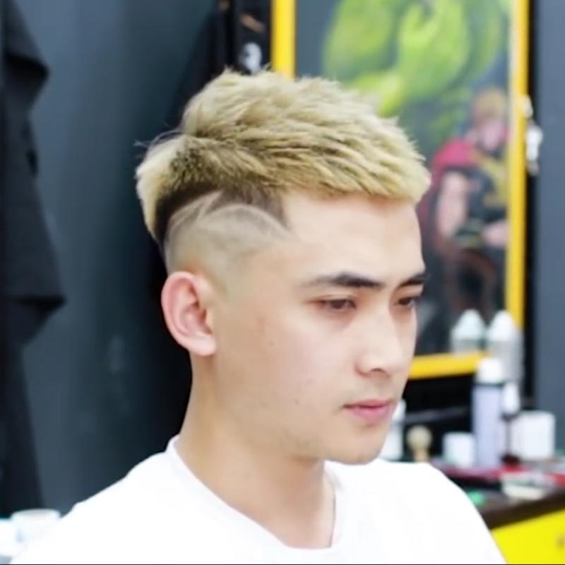 Kiểu tóc nam nhuộm đẹp