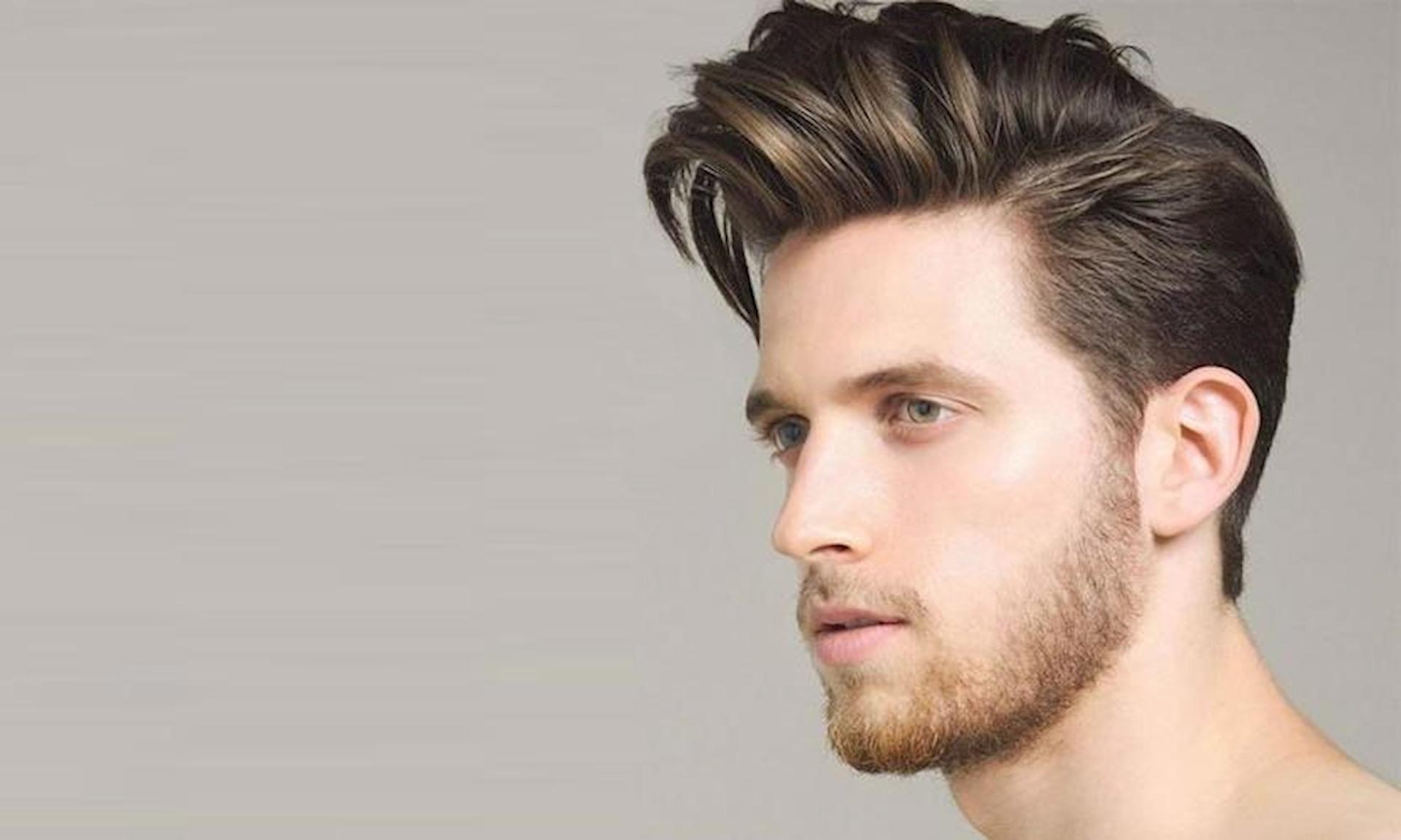 Kiểu tóc nam pompardour đẹp