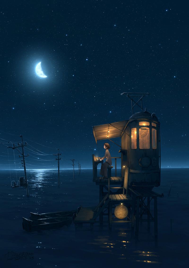 Hình ảnh đêm buồn đẹp