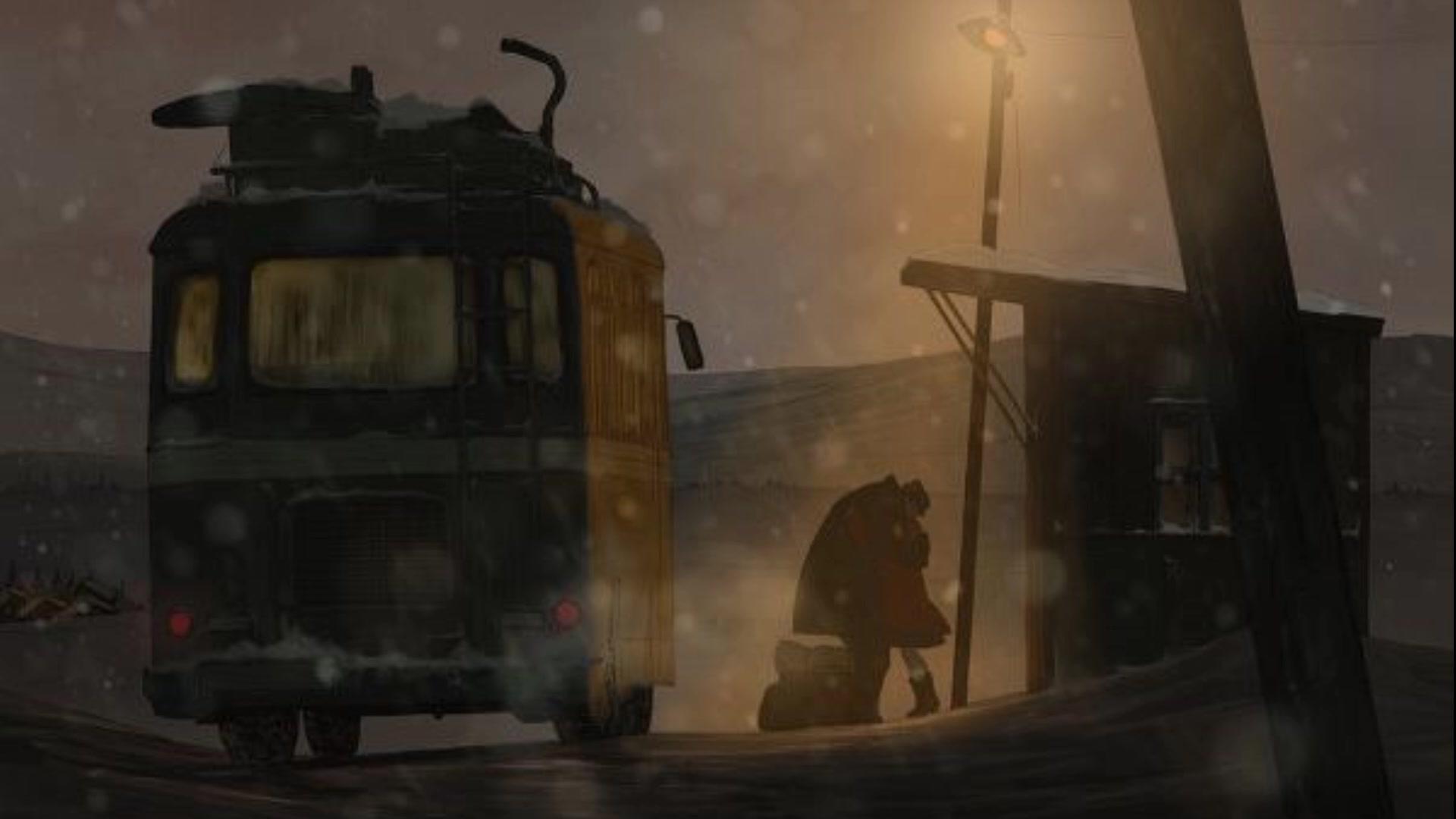 Hình ảnh đêm mùa đông đầy tâm trạng
