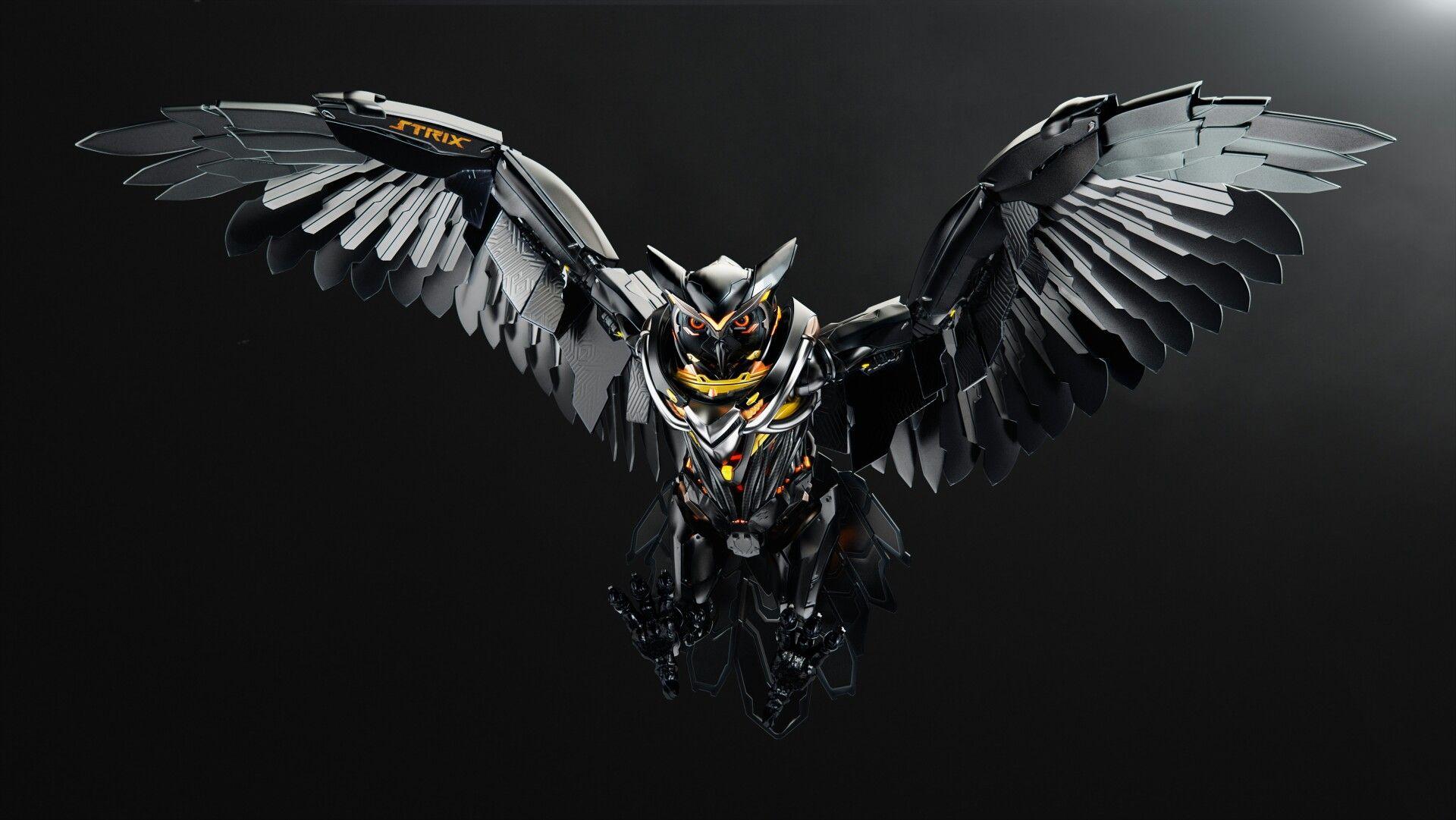 Hình nền chim 3D đẹp