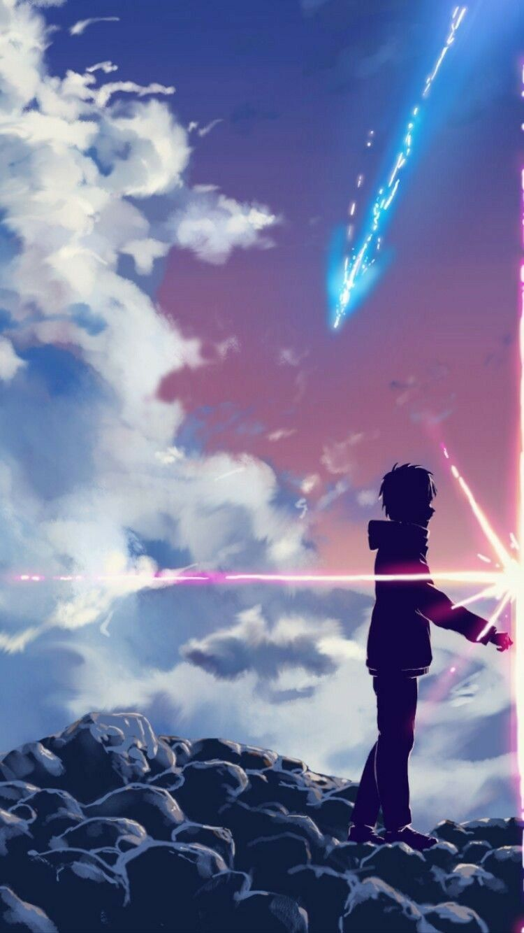 Hình nền điện thoại anime Your name 1