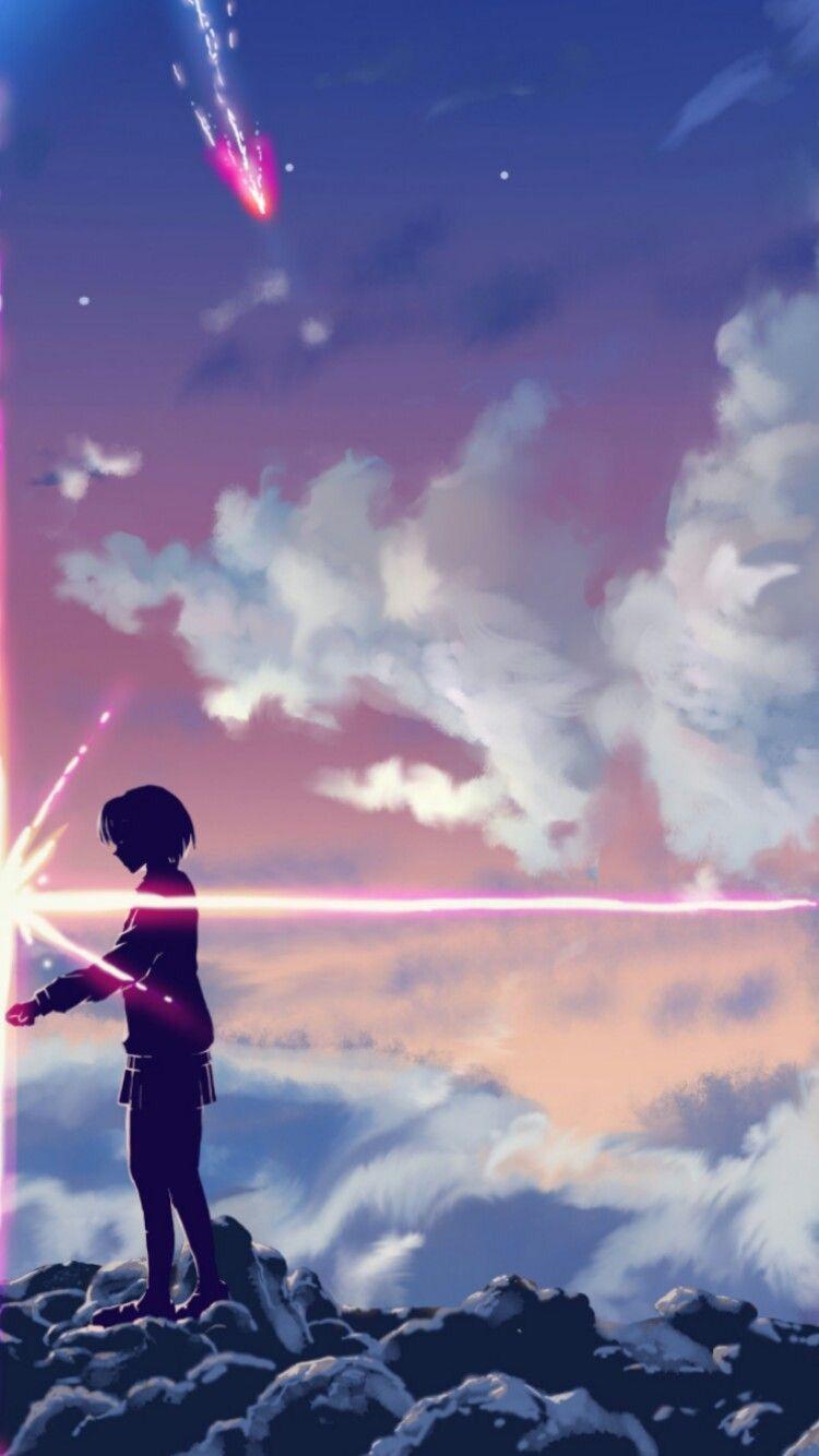 Hình nền điện thoại anime Your name 2