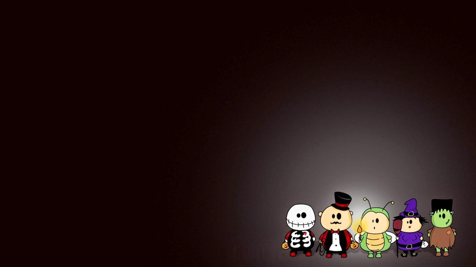 Background ppt chủ đề Halloween đẹp