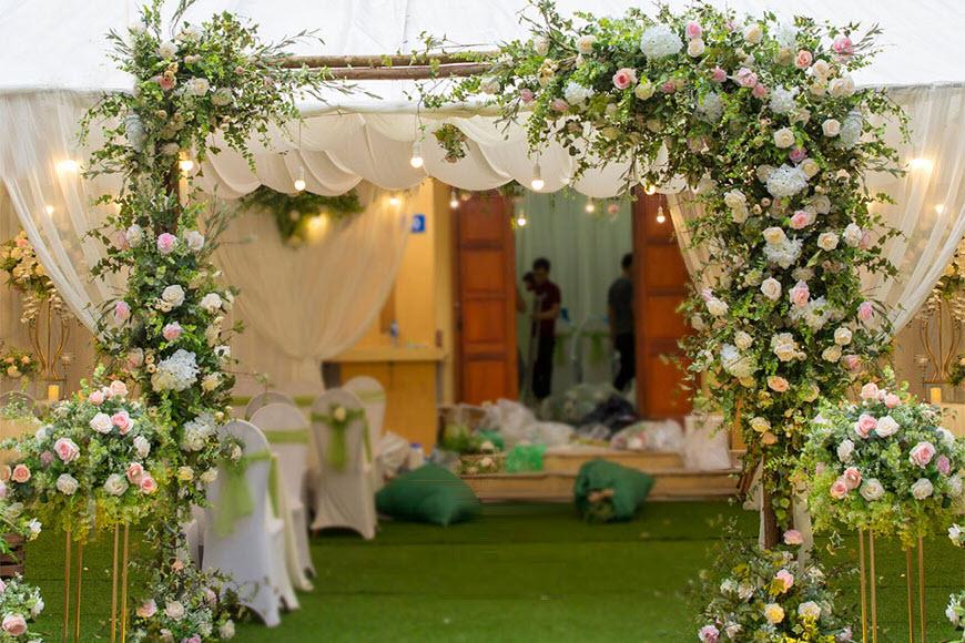 Cổng cưới đẹp nhất