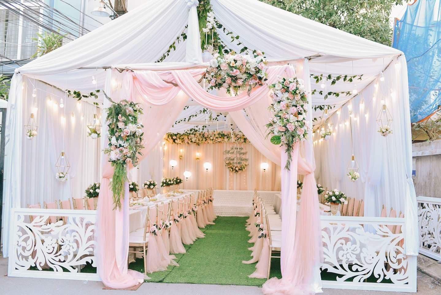 Hình ảnh cổng cưới đẹp, đơn giản