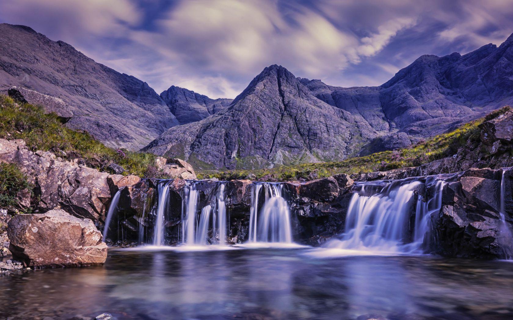 Hình ảnh thác nước đẹp như tranh