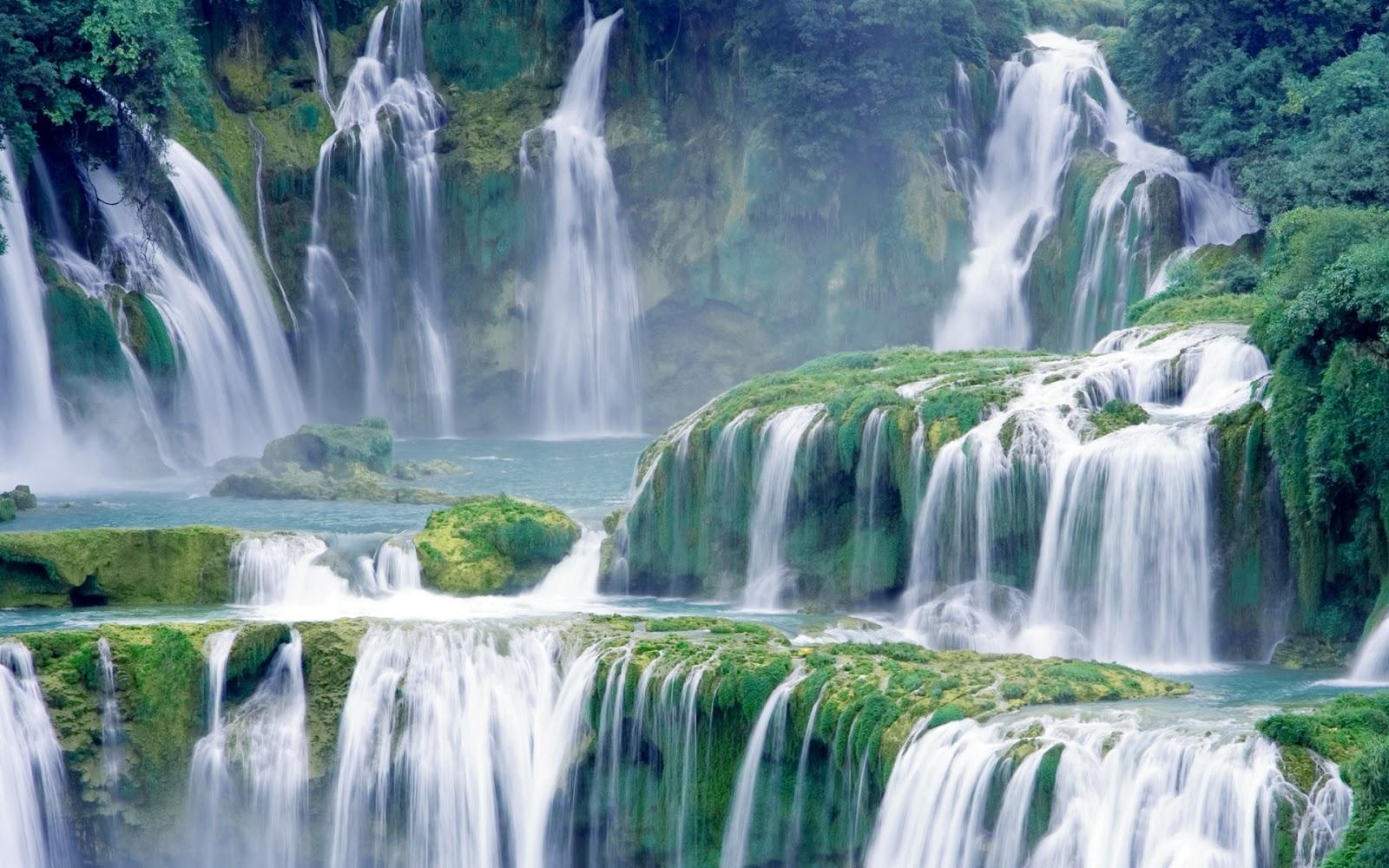 Hình ảnh thác nước đổ đẹp mê mẩn người xem