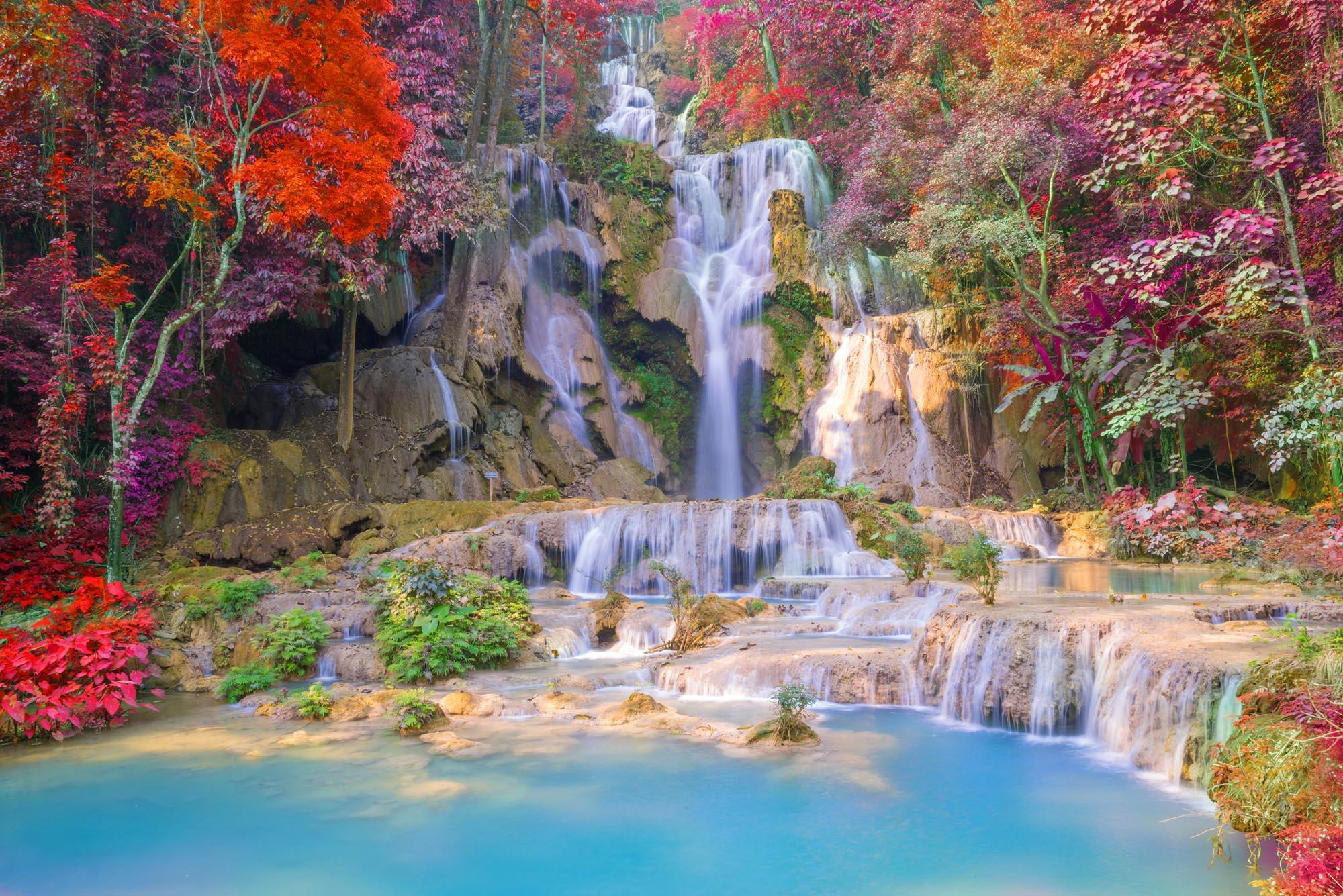 Hình ảnh thác nước lung linh đẹp nhất