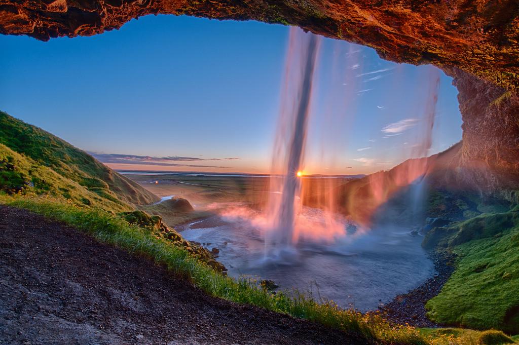 Hình ảnh thác nước vào buổi sớm đẹp nhất