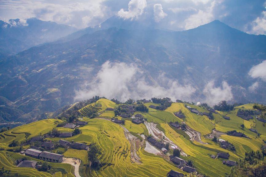 Hình ảnh tuộng bậc thang vùng núi Tây Bắc