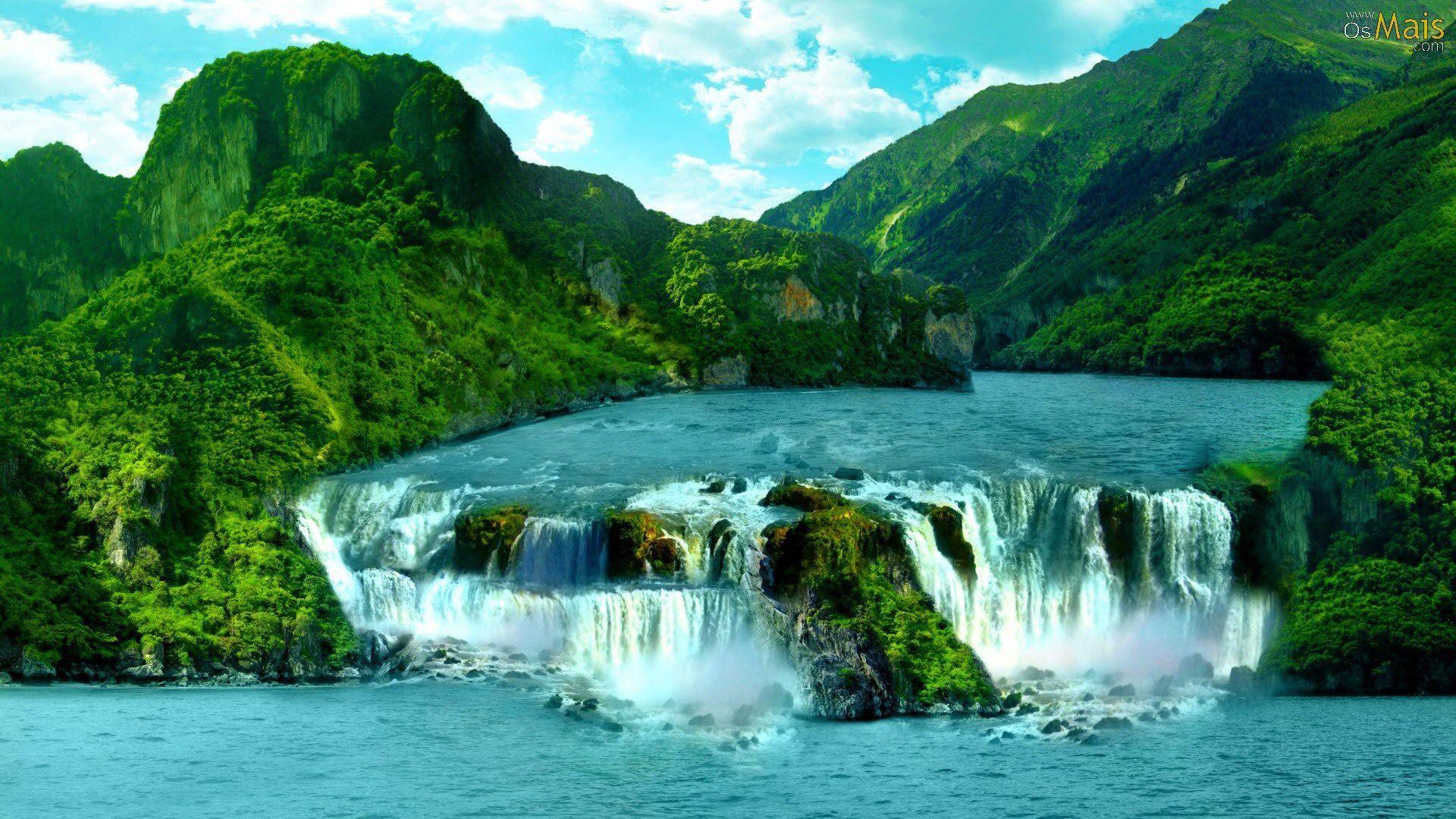 Hình ảnh về thác nước đẹp