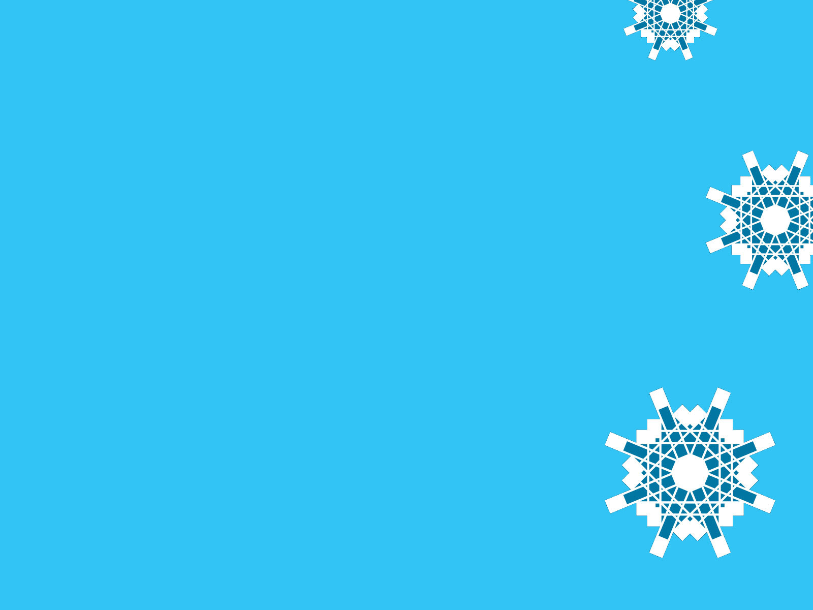 Hình nền ppt bông tuyết đơn giản, sang trọng