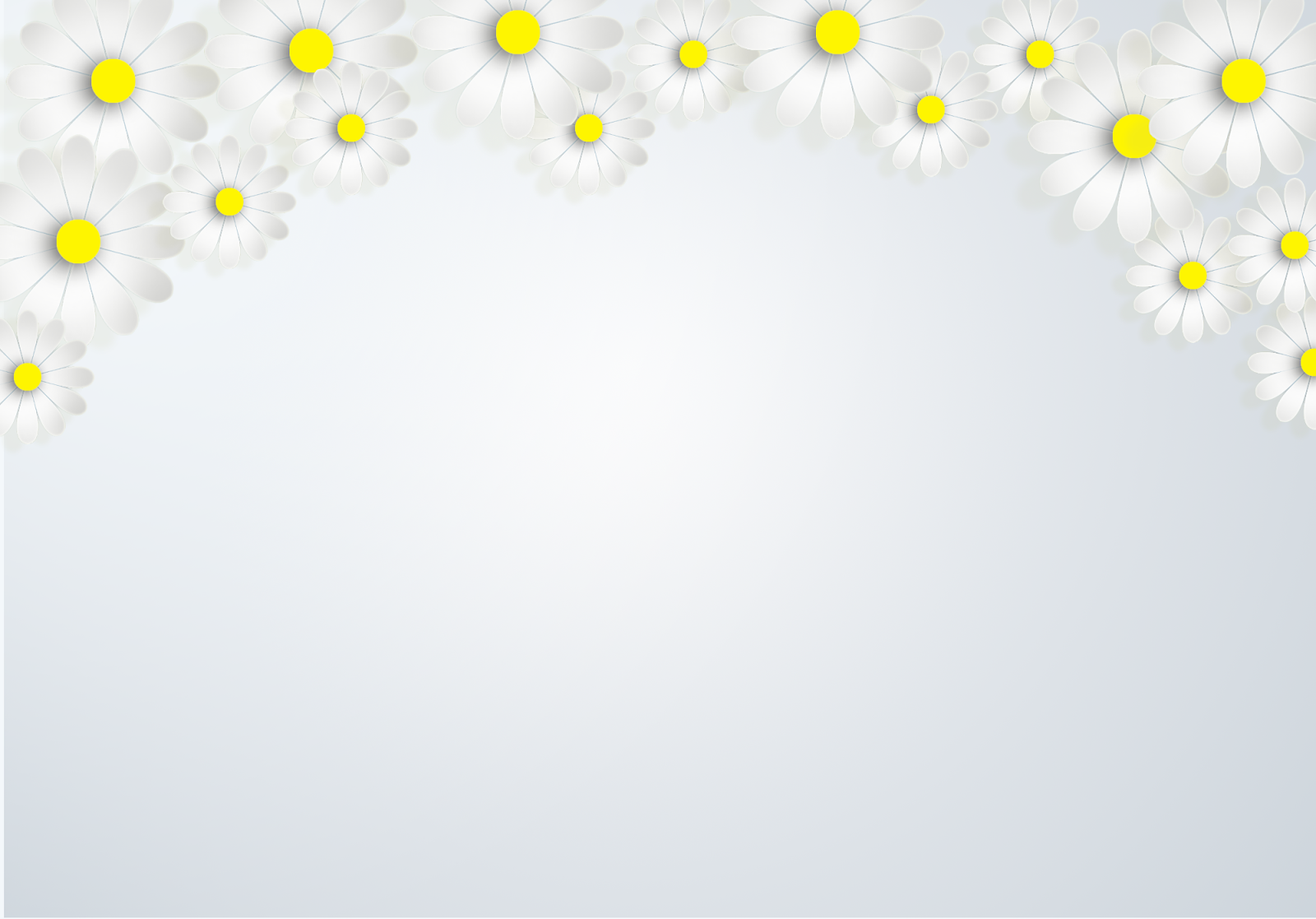 Hình nền slide powerpoint hoa cúc