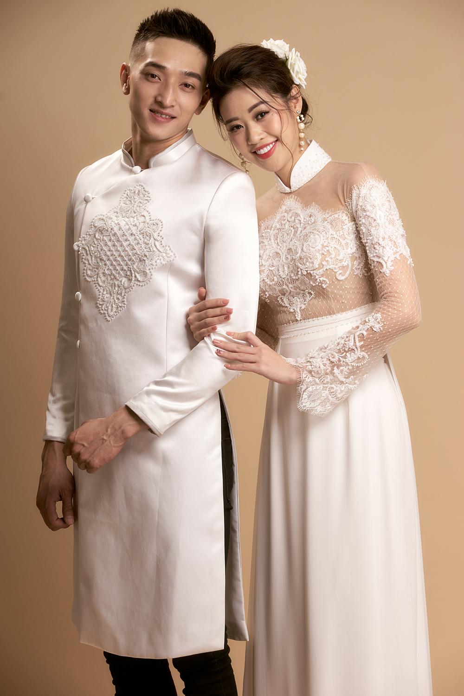 Mẫu áo dài cưới đôi đẹp