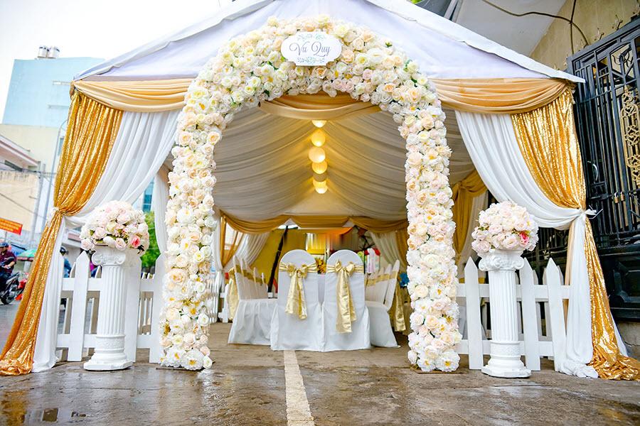 Mẫu cổng cưới hỏi đẹp nhất