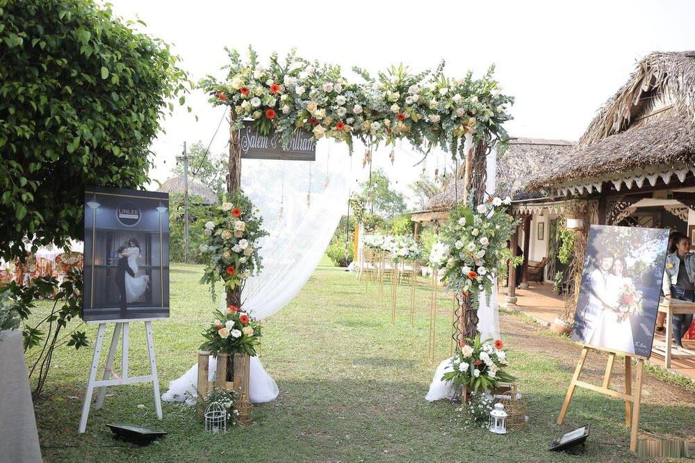 Mẫu cổng cưới phong cách phương Tây đẹp nhất