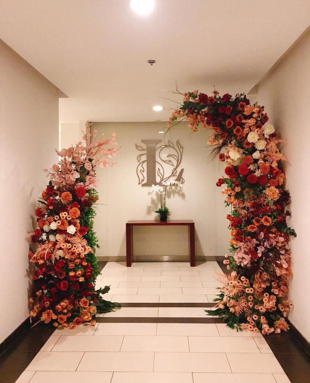Mẫu cổng hoa cưới đẹp nhất
