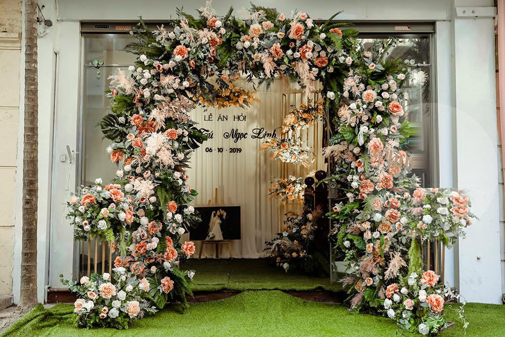 Mẫu cổng hoa cưới đẹp