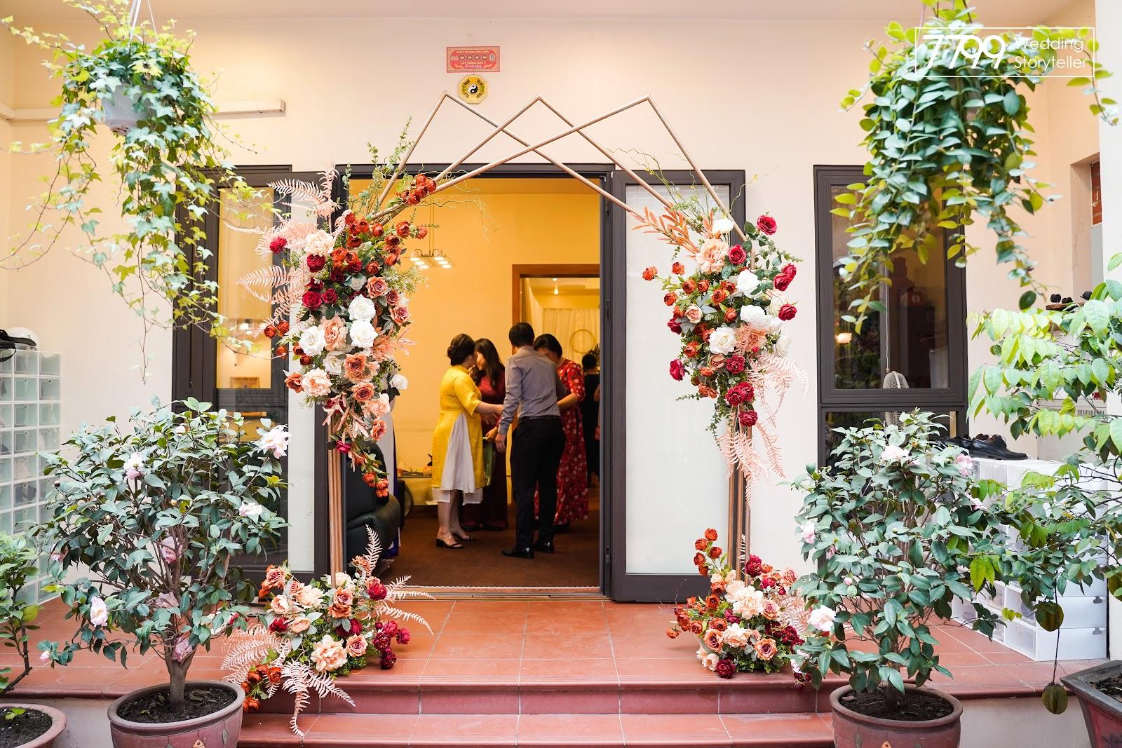 Mẫu cổng hoa trang trí tiệc cưới đẹp nhất