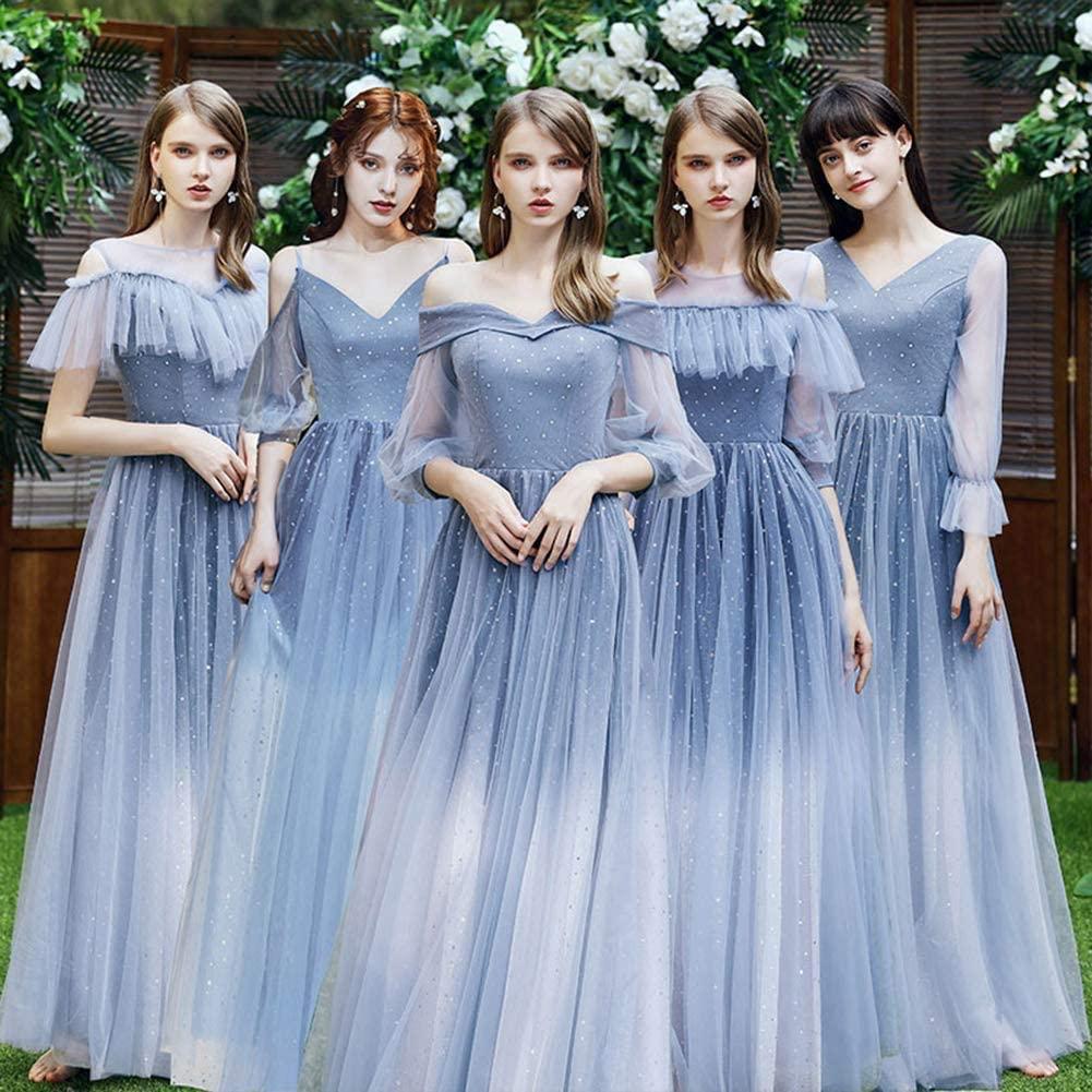 Mẫu váy phù dâu 2 màu đẹp nhất