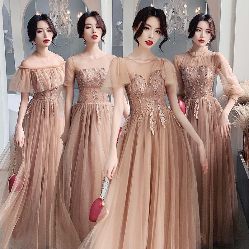 Mẫu váy phù dâu đẹp, duyên dáng