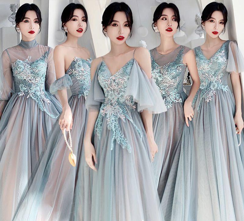 Mẫu váy phù dâu hiện đại, sang trọng