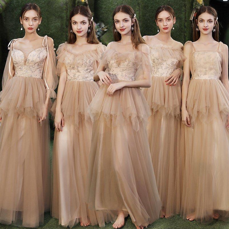 Mẫu váy phù dâu trẻ trung đẹp nhất