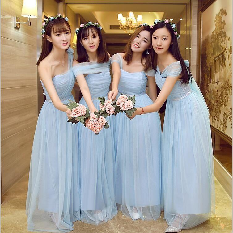 Mẫu váy phù dâu xinh xắn, nhẹ nhàng