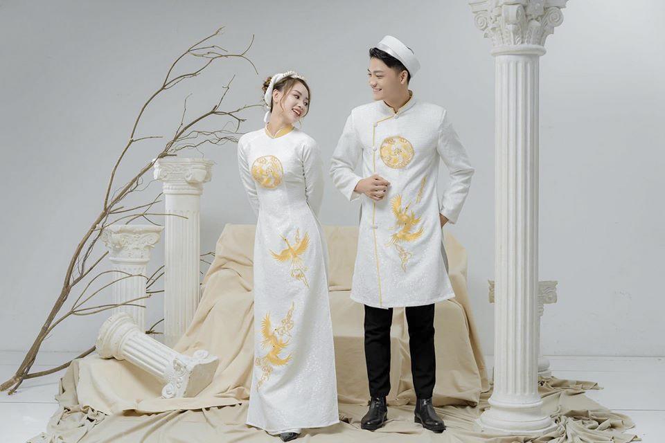 Những mẫu áo dài cưới đẹp nhất